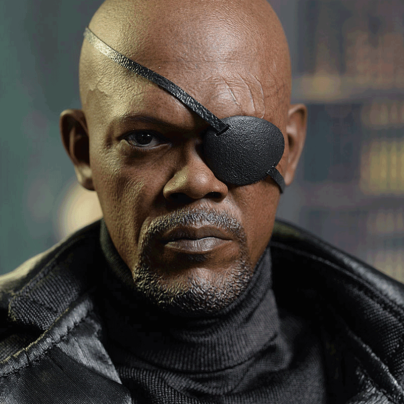"Nick Fury is the guy who asks ""why"""